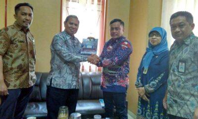 Kunjungan Disnakertrans Kotawaringin di Disnaker Kabupaten Malang (ist)