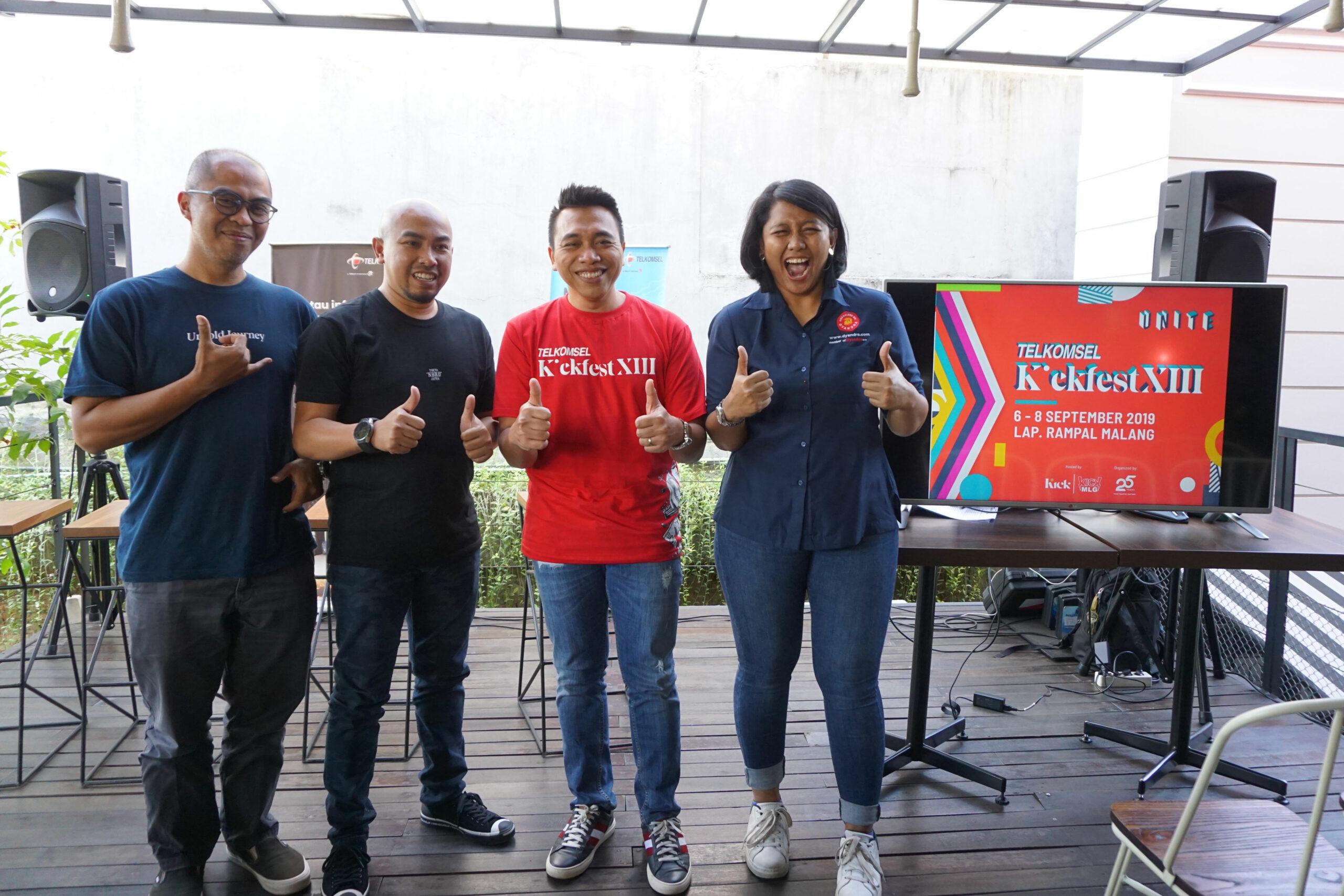 Telkomsel Kickfest XIII di Malang