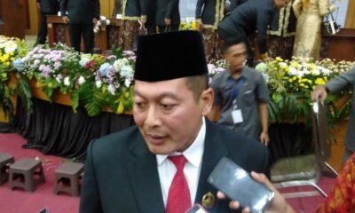 Ketua DPC PDI Kabupaten Malang Didik Gatot Subroto