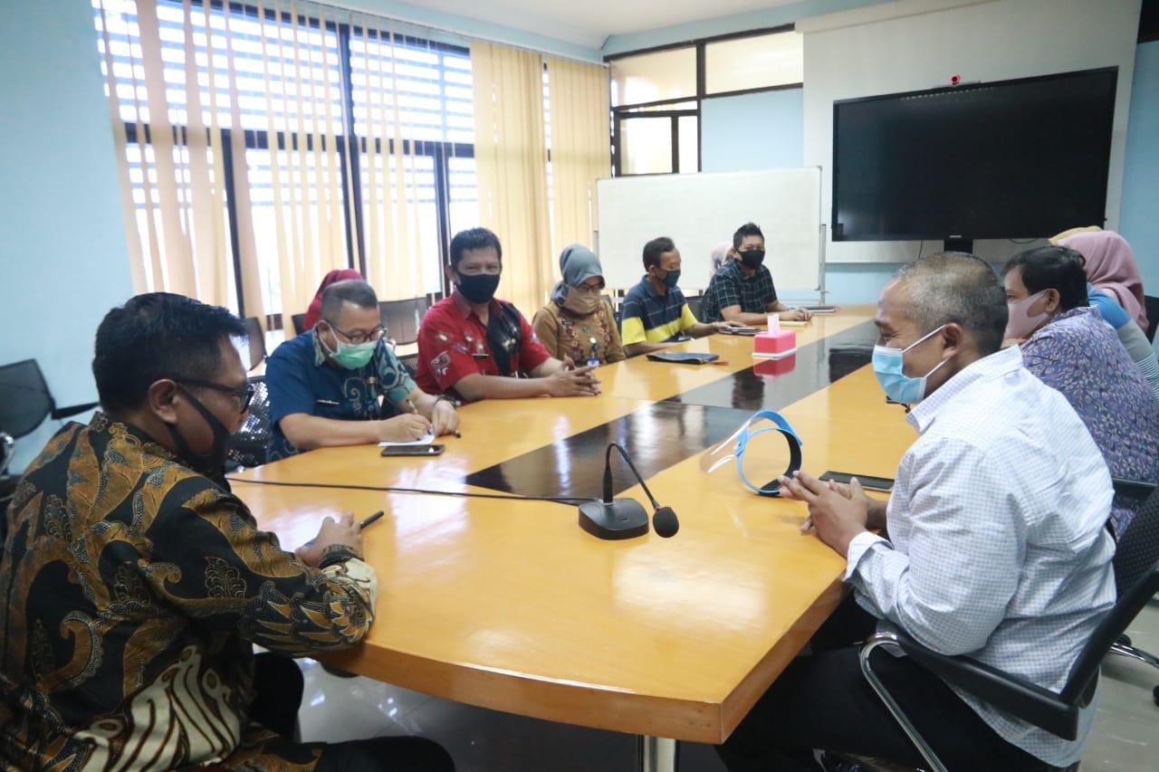 Wawali Sofyan Edi Jarwoko saat memberi arahan ke Diskominfo Kota Malang