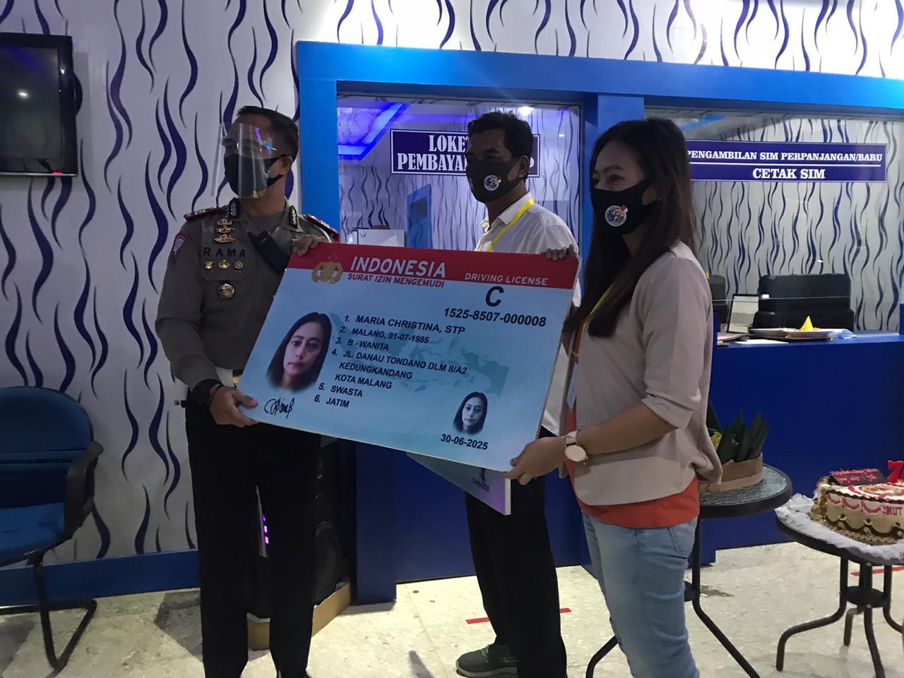 Lahir 1 Juli, warga Kota Malang dapat layanan SIM gratis