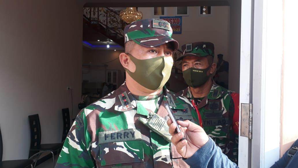 Komandan Satgas Covid-19 New Normal Life Kabupaten Malang, Letkol Inf Ferry Muzawwad