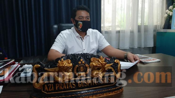 Kasatreskrim Polresta Malang Kota AKP Azi Pratas Guspitu