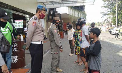 Warga tertangkap tak mengenakan masker diberi sanks teguran
