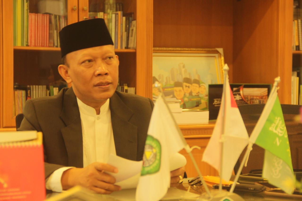 Foto: Rektor Unisma. Prof. Maskuri, Dr. H. M.Si.