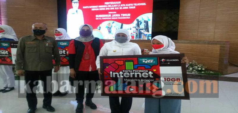 Internet Merdeka 10 Gb Telkomsel Support Pembelajaran Selama Pandemi Kabar Malang Com