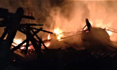 Gudang Dupa Terbakar, Penyebab Masih MIsteri