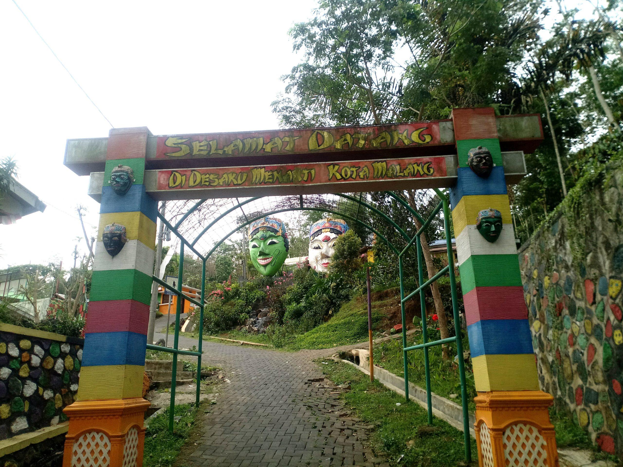 Kampung Topeng wisata edukasi sejarah topeng malangan (Foto - Muhammad Fathi Djunaedy)