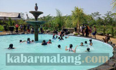 Foto: Wisata Edukasi D'Embung Park Tajinan. (Foto: Imron Haqiqi)