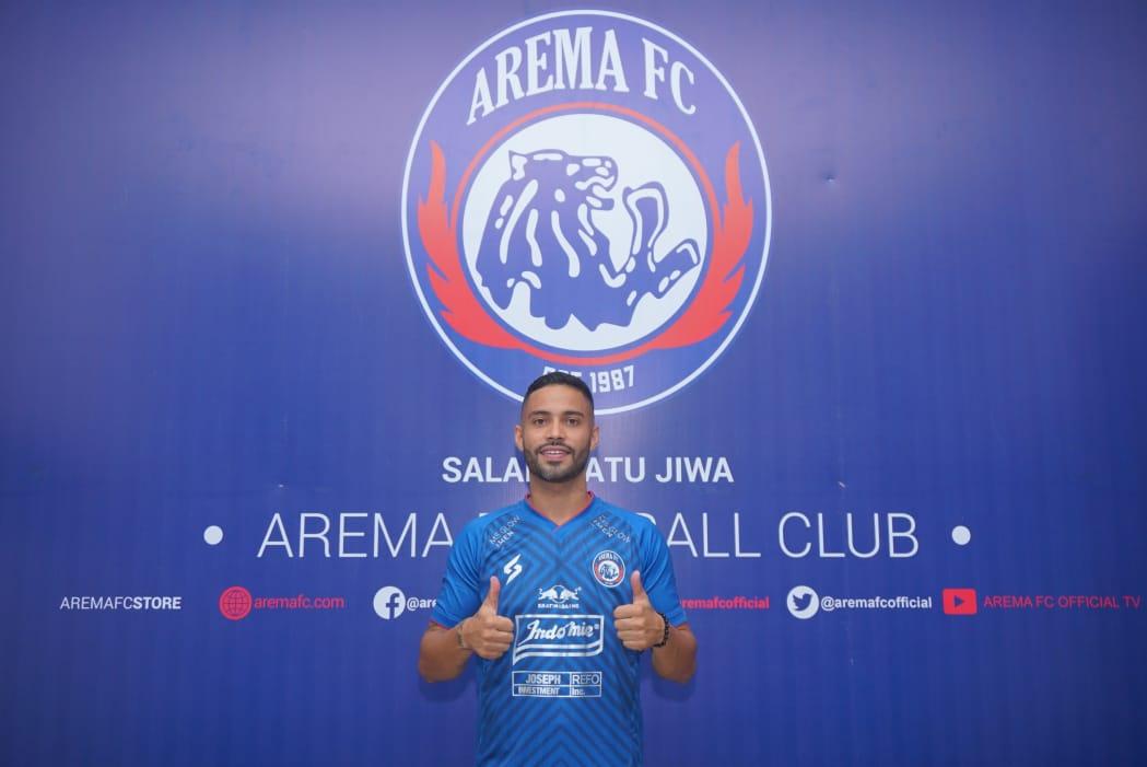 Bruno Smith akhirnya resmi bergabung dengan Arema FC