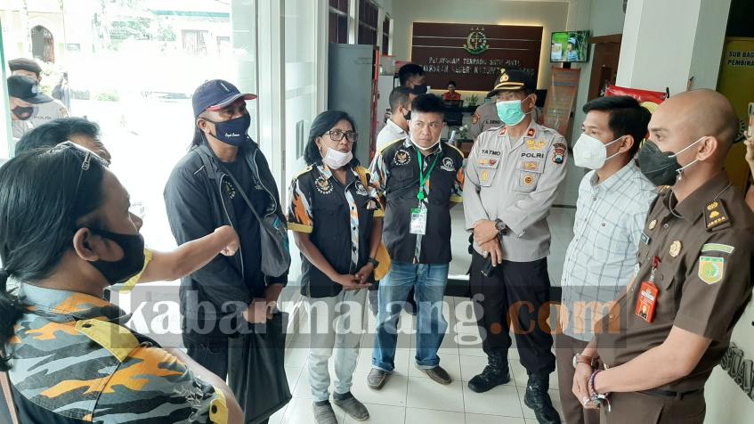 GMBI ketika ditemui Kejari Kabupaten Malang