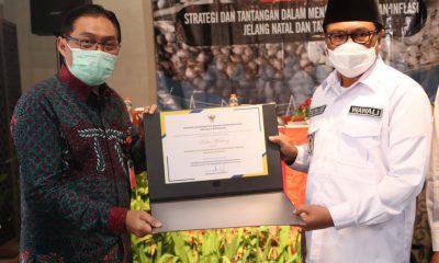 Tim Pengendali Inflasi Daerah (TPID) Kota Malang berprestasi. Tahun 2020, kinerja meningkat secara ekonomi makro.