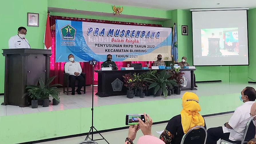 PPDB Terbahas, Angkat Usulan Bangun SMA di Pra Musrenbang Blimbing