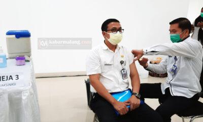 H-1 Vaksinasi Simbolis, Pemkot Malang Gelar Simulasi