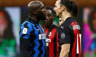 Ibra dan Kartu Merahnya Jadi Tiket Inter Milan ke Semifinal Coppa Italia