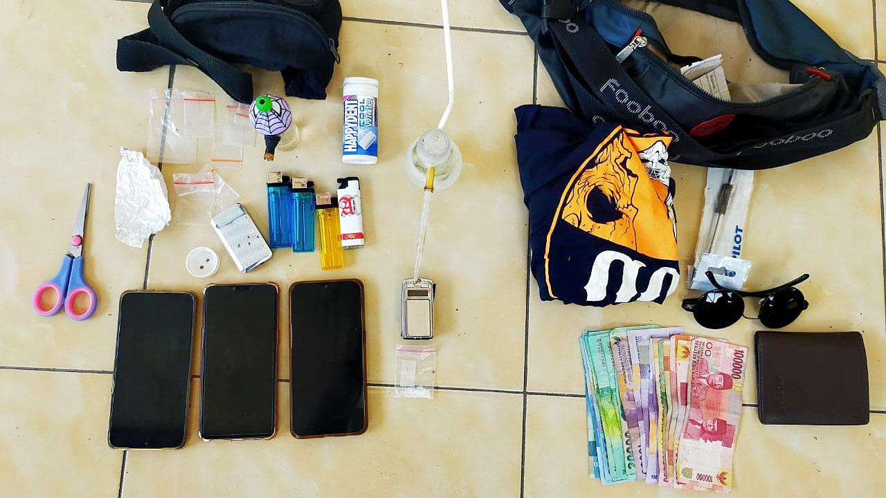 Polisi Relas 5 Tersangka Kasus Narkoba Ke Kejaksaan Kabupaten Malang