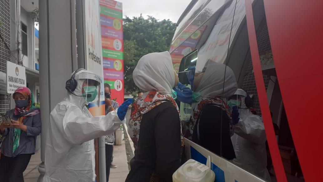 Selain Vaksinasi, Pemkab Malang Gelar Swab Test Serentak Di Kantor OPD