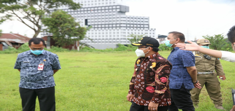 Persiapkan Jalur Lingkar Barat, Wali Kota Sutiaji Tinjau Tunggulwulung