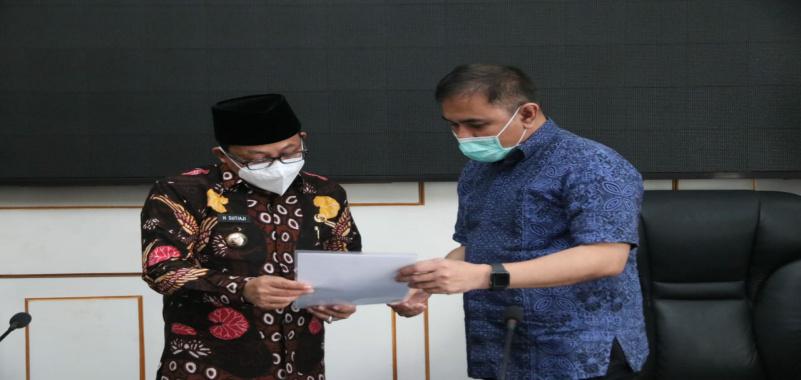 Pertama di Jawa Timur, Wali Kota Malang Terima PSU Apartemen