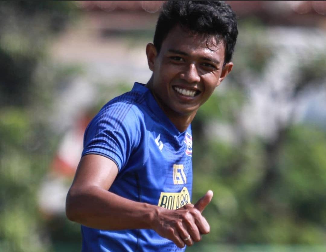 Dedik Setiawan, Striker Arema FC Ikut Vaksinasi Kabupaten Malang