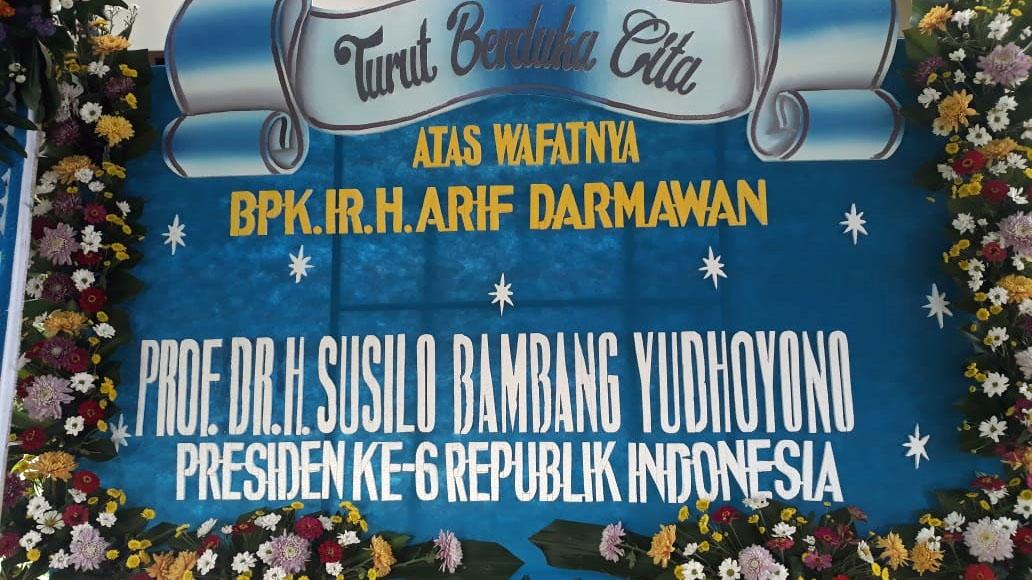 DPC Demokrat Kota Malang Berduka, SBY Sekeluarga Berbelasungkawa