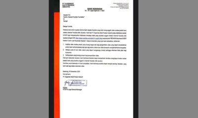 Bos Eiger Akui Perintahkan Kirim Surat Keberatan Kepada YouTuber