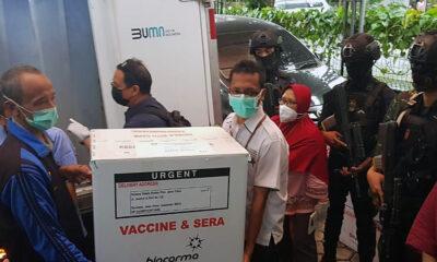 Vaksin Covid-19 Telah Tiba di Kota Batu, Jumlahnya 1280 Vial