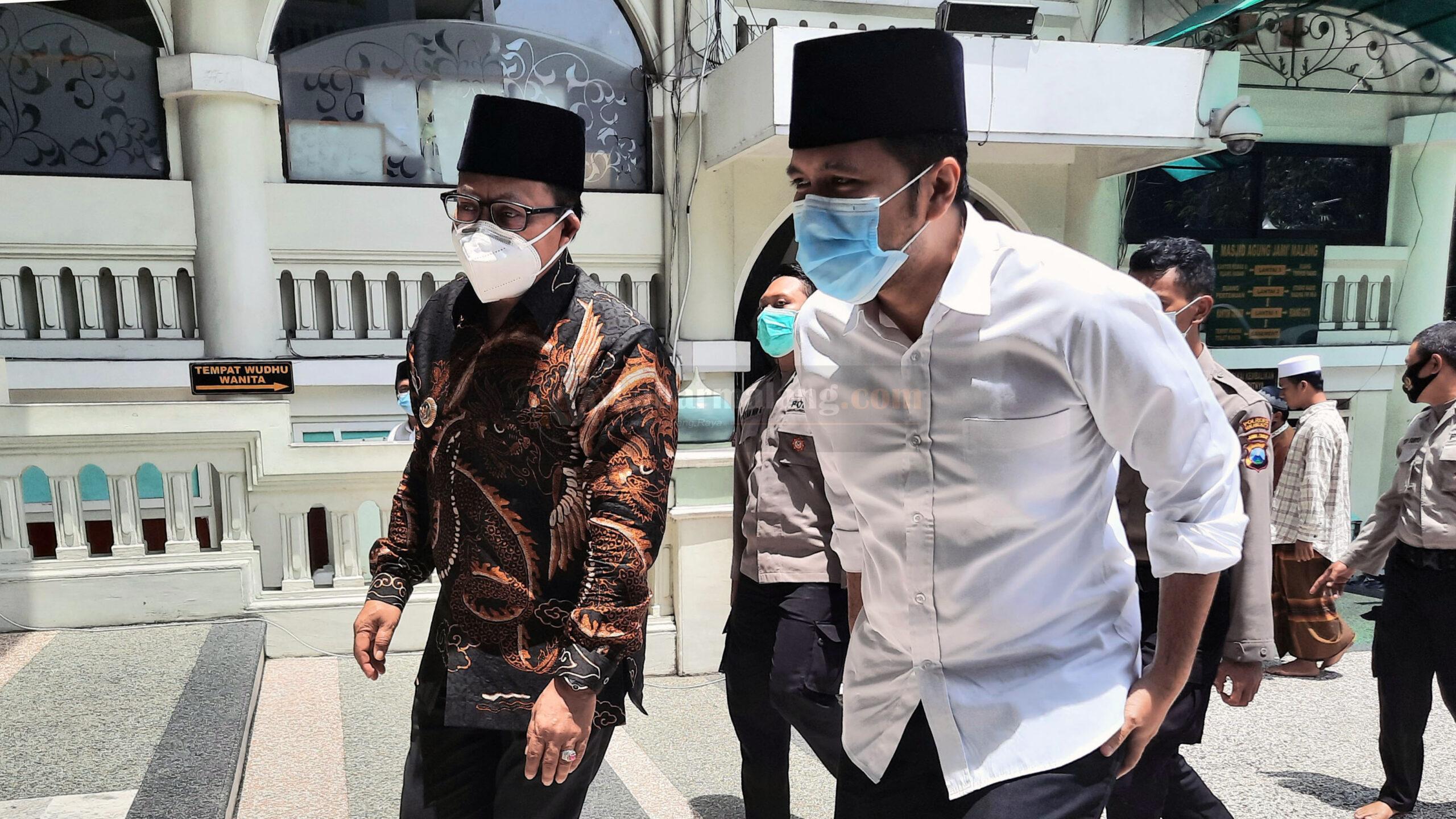Wagub Jatim Emil Dardak Puji Program Masjid Tangguh Kota Malang