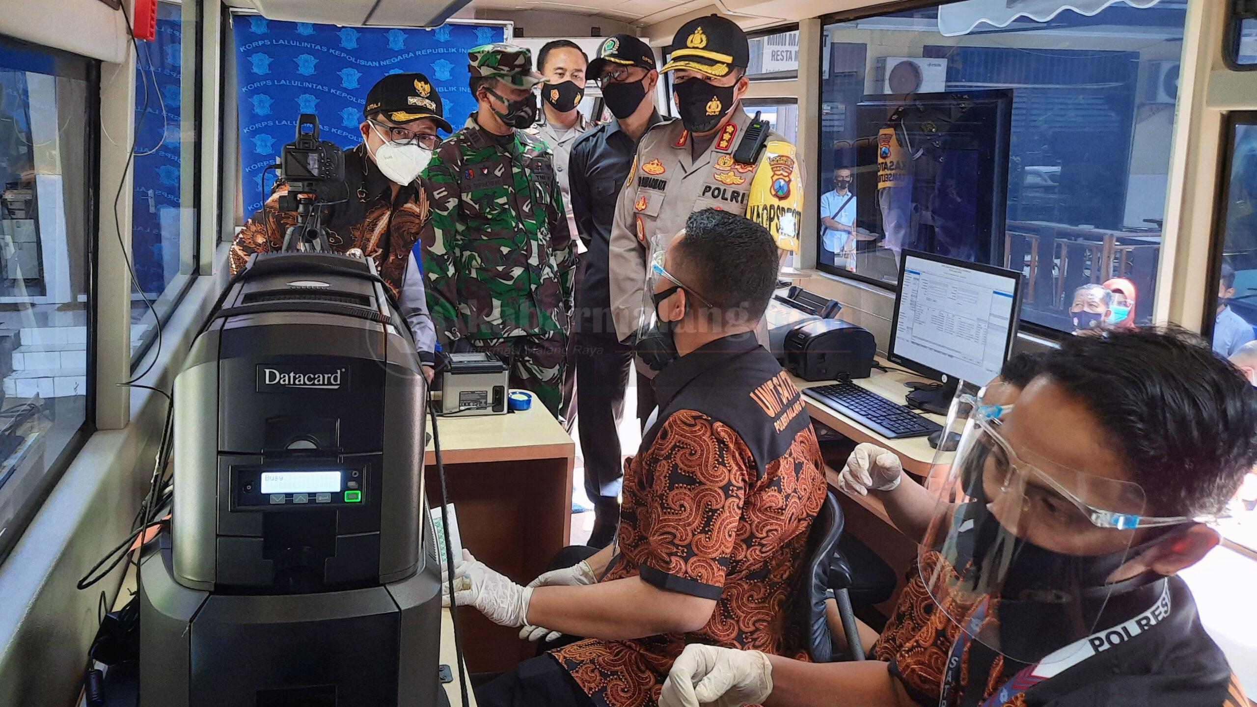 Bus SIM Keliling Polresta Makota Resmi Beroperasi Layani Masyarakat