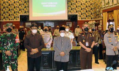 Forkopimda Kota Malang Antisipasi Potensi Konflik Saat Pandemi