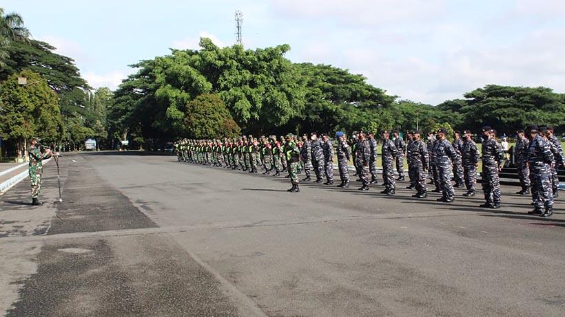 Perkuat PPKM RT RW Kota Malang, Tiga Matra TNI Turun Tangan