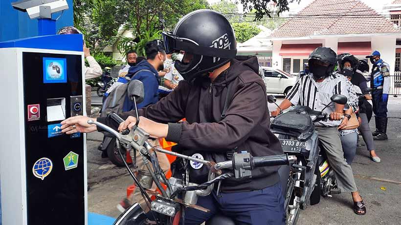 E-Parking Beroperasi Sebulan, Pendapatan Kota Malang Naik 6 Kali Lipat