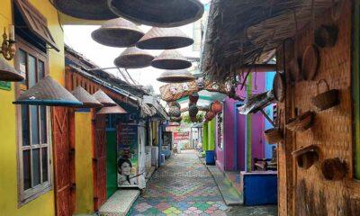Kampung Warna-Warni Kelabu Saat Pandemi, Kunjungan Masih Minim