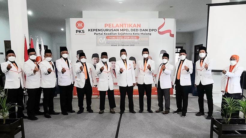 PKS Kota Malang 2020-2025 Pelantikan Ajak Kolaborasi Millenial