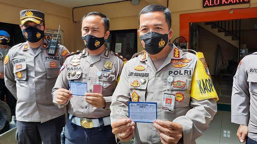Vaksinasi Tahap 2, Kapolresta Malang Kota Ikut Suntik