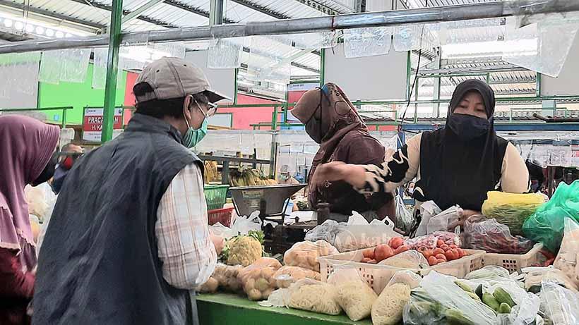Ribuan Pedagang Pasar Kota Malang Akan Suntik Vaksin Tahap 2