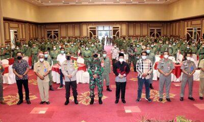 Pembekalan Satpol PP Dan Linmas, Kodim 0833 Kota Malang Ingatkan 4D