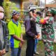 Langgar Prokes Dan Aturan Lalin, 34 Pengendara Di Lesanpuro Dibariskan