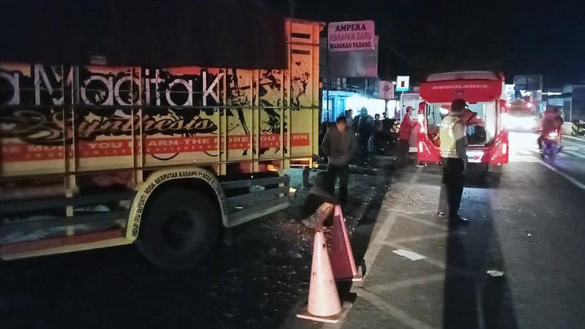 Kecelakaan Truk Di Malang, Satu Keluarga Asal Bangkalan Tewas