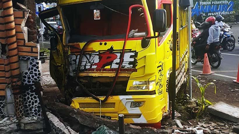 Sopir Truk Yang Tewaskan Keluarga Asal Bangkalan Jadi Tersangka