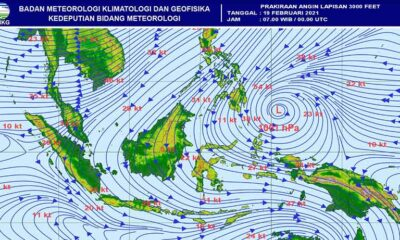 Kabar Cuaca Malang, Puncak Musim Hujan Hingga 21 Februari