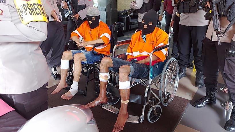 Begal Sawojajar Malang Didor, Sempat Sabetkan Celurit Ke Polisi