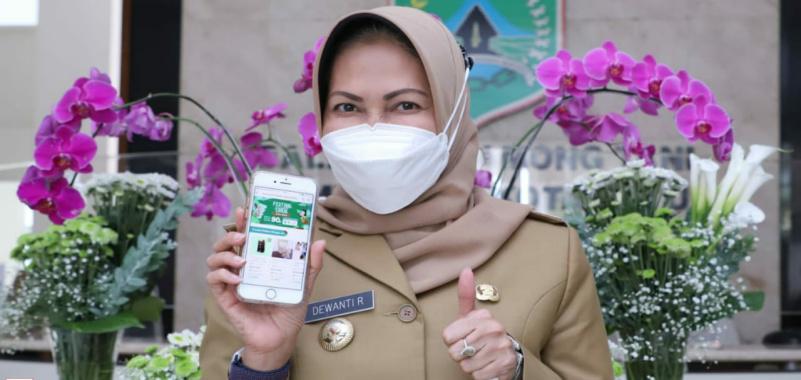Festival Produk Lokal Bergulir, Wali Kota Batu Borong Produk UMKM