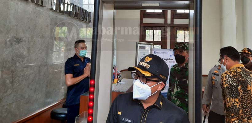 PPKM Jilid 2, Forkopimda Kota Malang Sidak Perkantoran