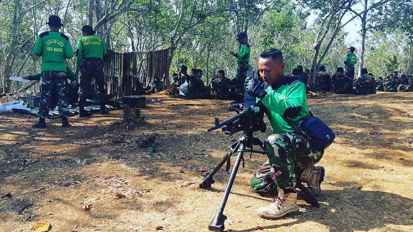Dentuman Seperti Bom Bukan Suara Latihan Tempur Marinir Purboyo
