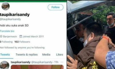 Pedofil Picu Kemarahan Netizen, Langsung Ditangkap Polisi