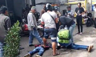 Dua Begal Terciduk Di Malang, Polisi Sempat Tembakkan Pistol Tiga Kali