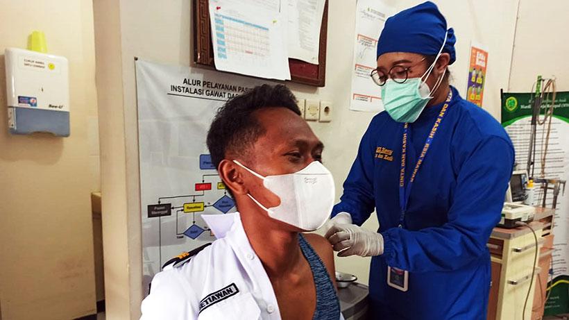 Ratusan Karyawan KAI Malang Raya Vaksinasi di RSIA Mawar