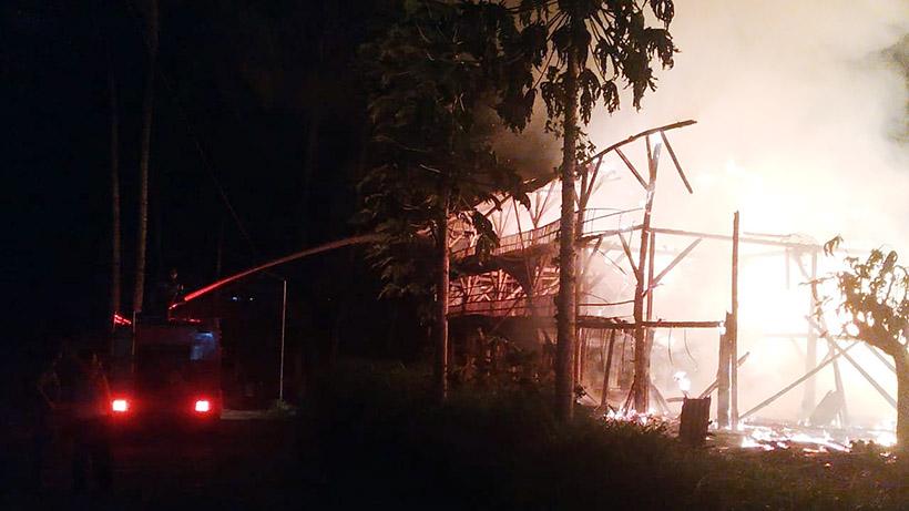Awas Bahaya Kebakaran Walau Malang Raya Sering Kehujanan