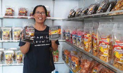 Ibu Rumah Tangga di Pagelaran Pelatih UMKM Kepercayaan Kementan